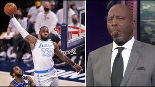 """James Worthy """"Lakers will Repeat"""" LeBron and AD Combines for 52 Pts leads Lakers def Pacers 122-115"""