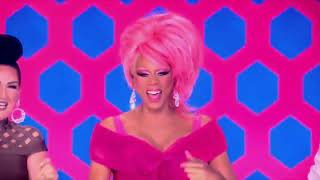RuPaul living for queens lipsyncing