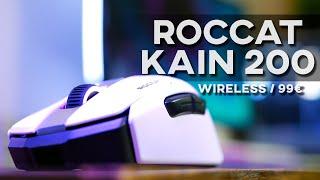 Vidéo-Test : Roccat Kain 200 AIMO | TEST | La nouvelle souris gamer sans-fil de la marque !