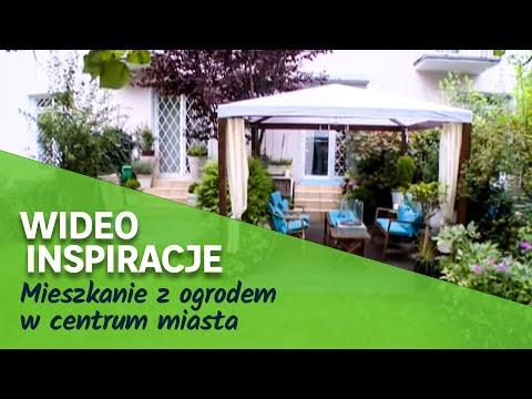 Mieszkanie z ogrodem w centrum miasta (wideo)