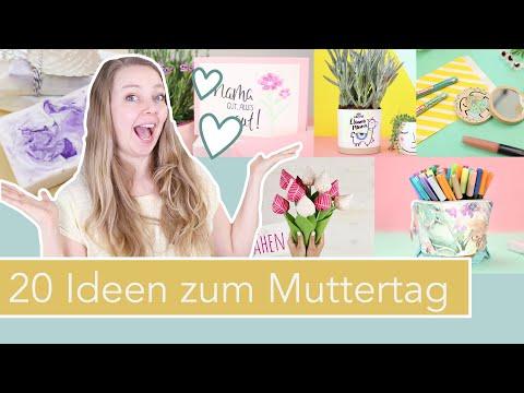20 DIY Ideen zum Muttertag! Geschenkideen zum Selbermachen
