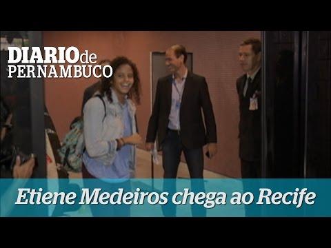 Etiene Medeiros chega ao Recife