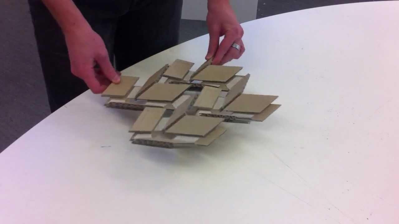 Thick Rigid Origami - Miura Fold - YouTube - photo#1