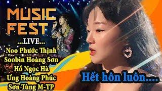Phản ứng khi người Hàn tận mắt xem Live của Sơn Tùng và các ca sỹ Hot Việt Nam