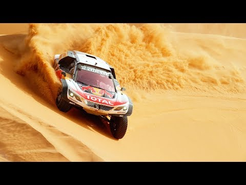 Desert ballet in super slow motion (4k) with Peugeot 3008.