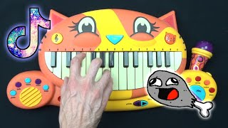 I PLAYED CHICKEN WING SONG ON FUNNY INSTRUMENTS