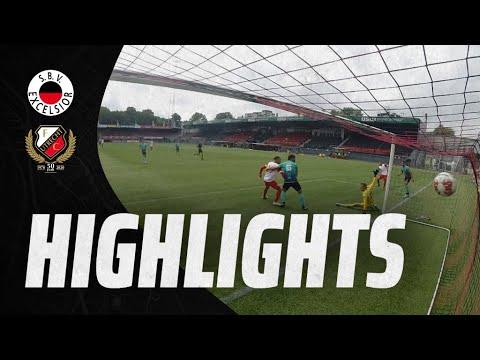 HIGHLIGHTS | Doelpuntrijk oefenduel tussen Excelsior en Jong FC Utrecht