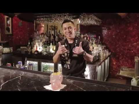 Best Bartender cocktails at Hard Rock Cafe Macau by Rollie