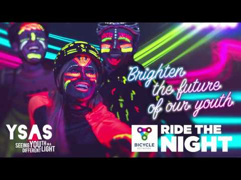 Ride the Night 2017 - meet Kellie from YSAS