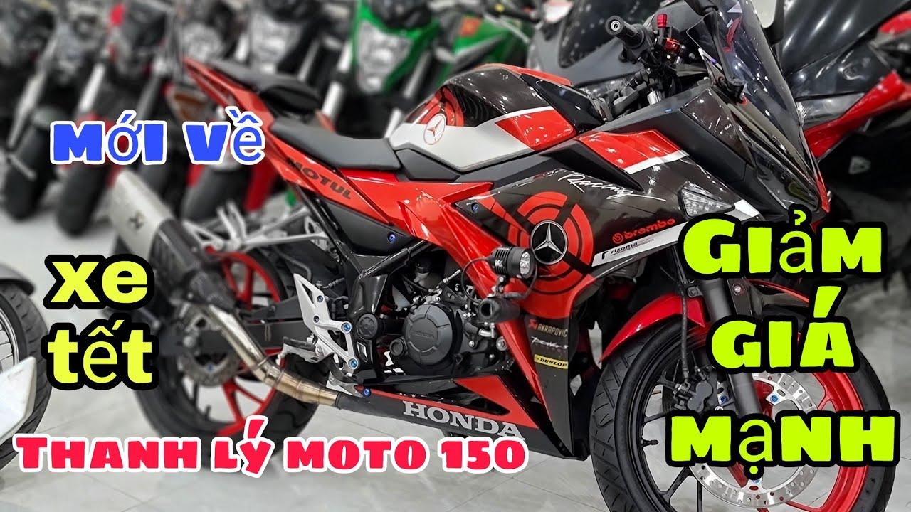 xả lô môtô 150, và máy dòng xe mini chỉ từ - 20tr,tại moto phương nam | Mỹ Motor