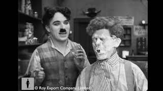 Charlie Chaplin - Deleted barber shop scene from Sunnyside (1919)