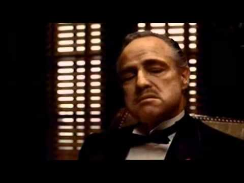 El Padrino (The Godfather) - Primera Escena - Vito Corleone y Bonasera