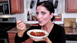 Homemade Chili Recipe - Laura Vitale - Laura in the Kitchen Episode 217