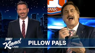 """MyPillow Mike Reacts to Jimmy Kimmel's Monologue & We Play """"Who's High?"""""""