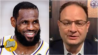 There's a real chance LeBron could return vs. the Kings - Woj | The Jump