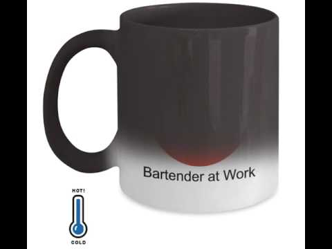 Do Not Enter Bartending Mug | Color Changing Mug