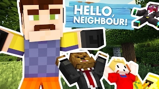 BRAND NEW MINECRAFT HELLO NEIGHBOR MOD - MODDED MINIGAME