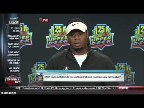 Ken Griffey Jr. Gives The Worst Interview Ever