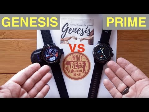 Kronos Blade GENESIS vs Kospet PRIME (aka AllCall AWATCH GT) Part 1: The Basic Comparison