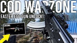 Call of Duty Warzone - How to Unlock the ENIGMA Easter Egg Gun!