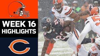 Browns vs. Bears | NFL Week 16 Game Highlights
