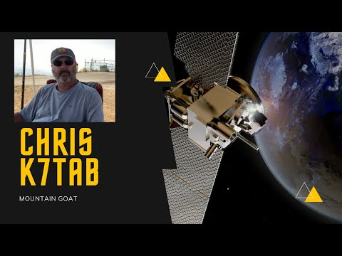 Chris K7TAB is a SOTA Mountain Goat