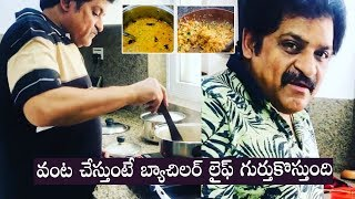 Comedian Ali cooks food for his kids, recalls cooking duri..