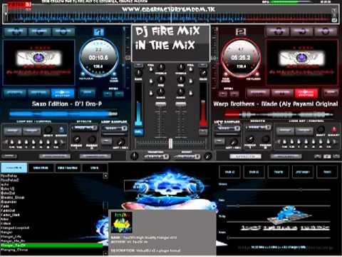 DJ FIRE MIX MEZCLANDO EN VIVO CON VIRTUAL DJ 7