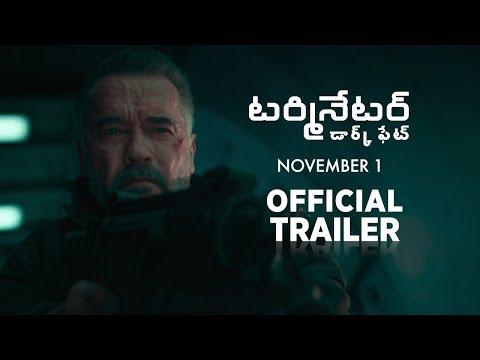 Terminator Dark Fate  Official Telugu Trailer