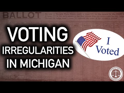 Canvassers THREATENED in Michigan, Ballots Counted SECRETLY & ILLICITLY