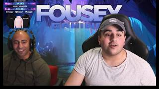 FOUSEYTUBE almost leaked his location FANS went crazy on DONATIONS