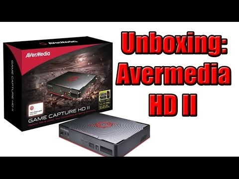 UNBOXING: Capturadora Avermedia HD II - Smashpipe Games