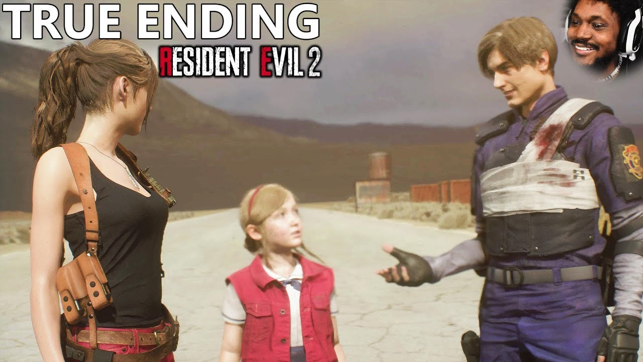 GETTING THE TRUE ENDING WITH CLAIRE (yes. the entire game)   Resident Evil 2 (Remake) TRUE END