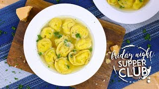 Homemade Tortellini   Friday Night Supper Club