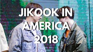 jikook in america 2018