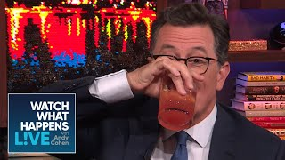 Stephen Colbert Plays Never Have I Ever, Late Night Host Edition!   WWHL