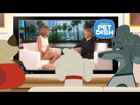 Ellen's Pet Dish with Taylor Swift