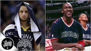 How the Steph Curry experience is a lot like Michael Jordan's Bulls | The Jump