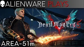 Devil May Cry 5 Gameplay - Alienware Area-51m (RTX 2080)