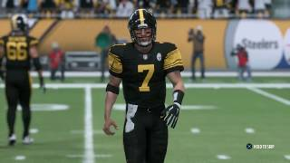 NFL Week 11 Thursday Night Football - Pittsburgh Steelers vs Tennessee Titans (Madden 18 gameplay)