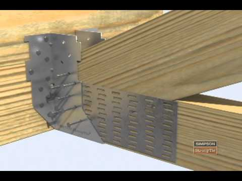 Htu Heavy Truss Hanger Installation Youtube