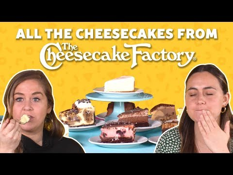 We Tried Every Cheesecake from The Cheesecake Factory 😱 Food Network