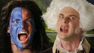 George Washington vs William Wallace. Epic Rap Battles of History