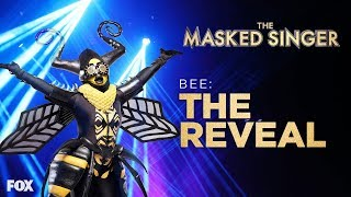 The Bee Is Revealed | Season 1 Ep. 10 | THE MASKED SINGER