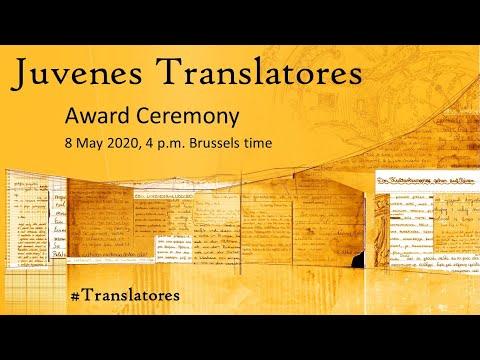 Award Ceremony - Juvenes Translatores (2019-2020) photo