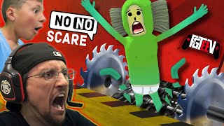 NO NO SQUARE GAME!  FGTeeV Funny VR CHAT Games (The $$ GRINDER Wager)