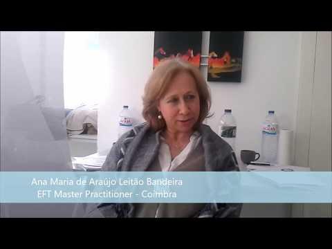 Ana Maria Bandeira - Terapeuta Certificado EFT Master Practitioner