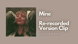 Taylor Swift - Mine | Re-recorded Leaked Audio