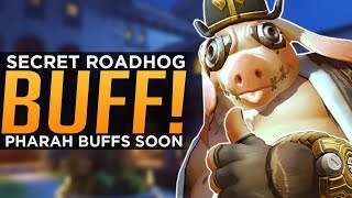 Overwatch: Roadhog & Pharah BUFFS! - Torb Rework Next Week!? - YouTube