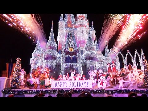 Celebrate The Season Show at Mickey's Very Merry Christmas Party 2014 - Jolly Holidays